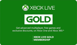 Xbox Live Gold Recharge