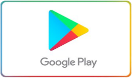 Google Play 50 EUR Prepaid Credit Recharge